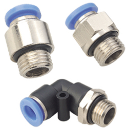 Push in Fittings with Metrich Thread