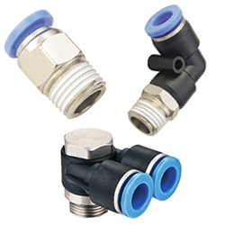 push in fittings, pneumatic fittings