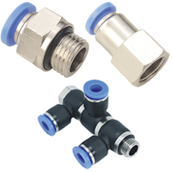 push in fittings with BSPP, G thread