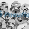 Stainless Steel Male Connector with M22 Thread Push-in Fittings from Pneuflex