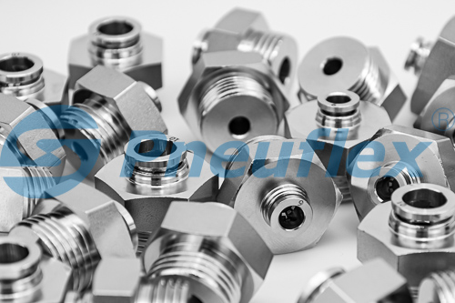 M22 thread male straight connector pneumatic fittings
